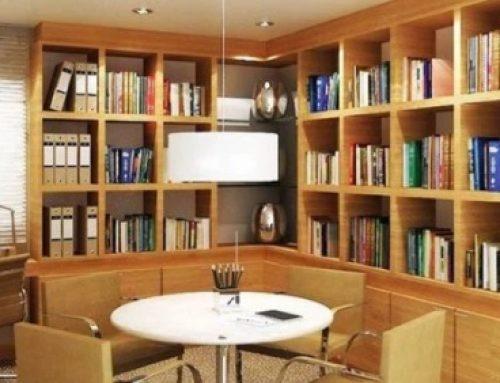 Como organizar e limpar sua biblioteca do seu escritório.
