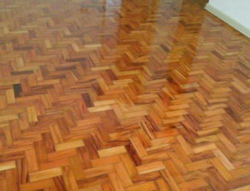 Como limpar um piso taco!