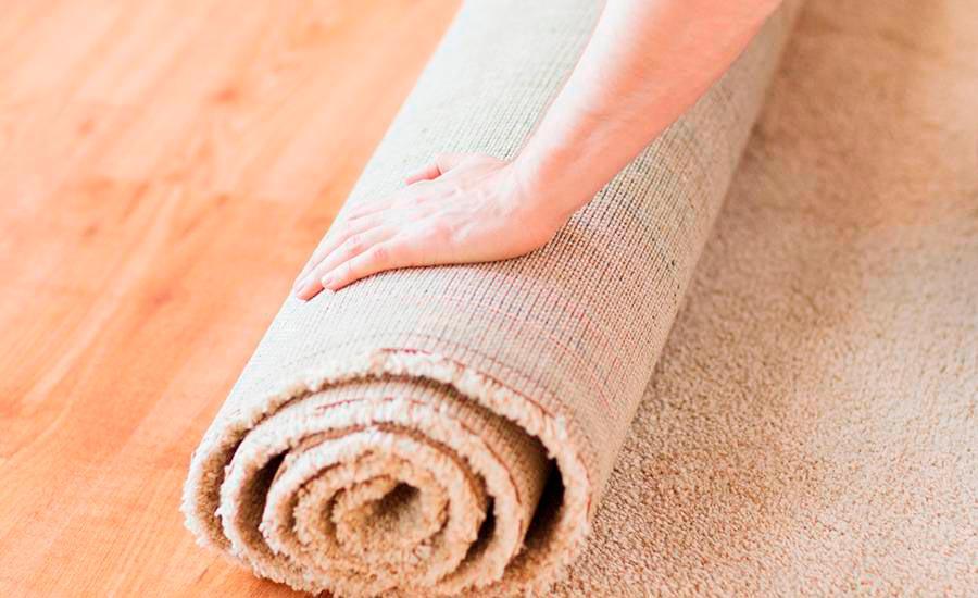 limpeza e higienização de tapetes