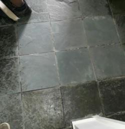 Como limpar seu piso de ardósia.
